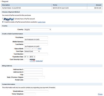 how to pay your myclient invoice myclient the ultimate management